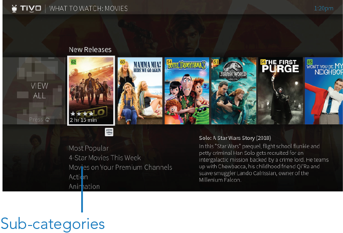 What-to-watch-subcategories