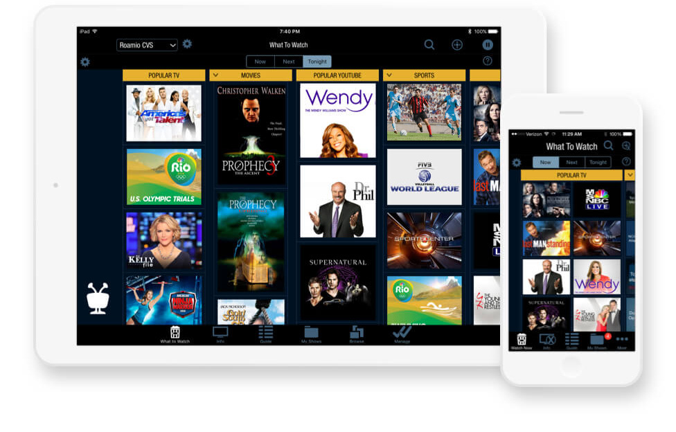 tivo app for mobile devices